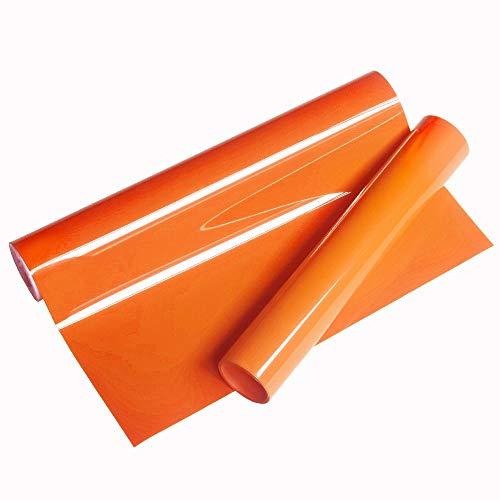Vinilo Fruta Naranja Transferencia de calor Vinilo 25x155cm Hierro en HTV para máquina de prensa de camafeo o calor