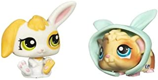 Littlest Pet Shop 2010 Assortment 'B' Series 2 Collectible Figure Bunny & Gui...