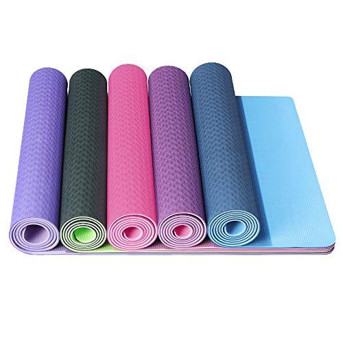 Aoligei Anti-lip Fitness Fitness Oefening Yoga Pilates Matrassen Camping Picknick Mat Baby Kids Crawl Pad Roze
