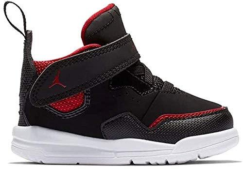Nike Jordan Courtside 23 (TD), Scarpe da Fitness Unisex-Bambini, Multicolore (Black/Black/Gym Red 006), 25 EU