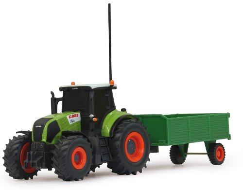 RC Auto kaufen Traktor Bild 2: RC ferngesteuerter Traktor Claas Axion 850 mit Anhänger 1:28 - RTR - inkl. Batterien*