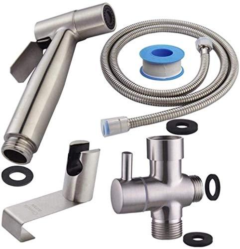 Taps Toilet Hose Bidet Sprayer Toilet Sprayer Kit Best Personal Sanitary Shower Set - Toilet Companion Toilet Washer Accessories Toilet Seat Spray Set Bathroom Flush
