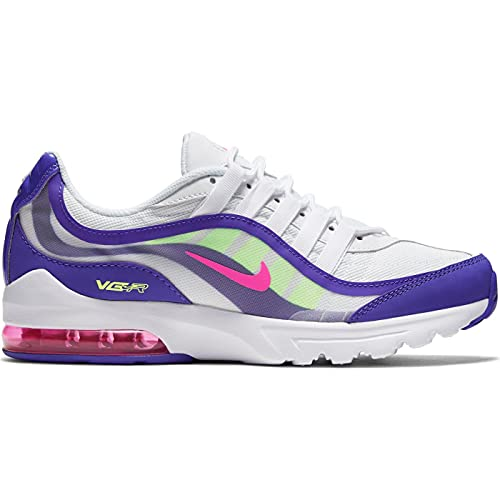 Nike Damen Air Max Vg-R AMD Schuhe, White/Pink Blast-Indigo Burst, 41 EU