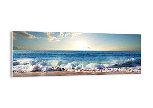 Cuadro sobre Vidrio - Cuadro de Cristal - de una Sola Pieza - 140x50cm - Foto número 3551 - Listo para Colgar - Pinturas en Vidrio - Impresiones sobre Vidrio - Cuadro en Vidrio - GAB140x50-3551