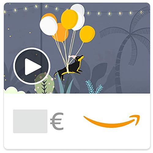Cheques Regalo de Amazon.es - E-mail - Perro suspendido (animación)