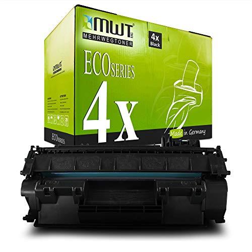 4X MWT Toner für Canon PC-D 320 340 ersetzt 7833A002 Black 7833A002AA Schwarz