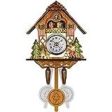Reloj de cuco Reloj tradicional de la selva negra Reloj de pared de cuarzo...
