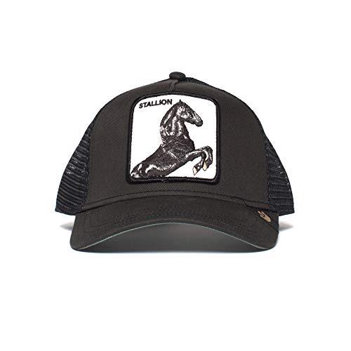 Goorin Bros. Stallion Gorra de bisbol, Caballo Negro, Talla única para Hombre