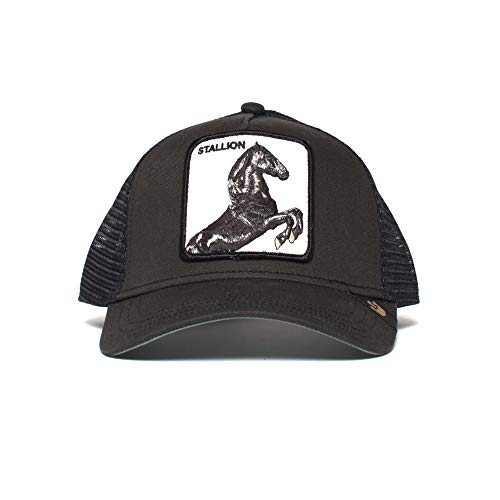 Goorin Bros. Stallion Gorra de bisbol, Caballo Negro, Talla...