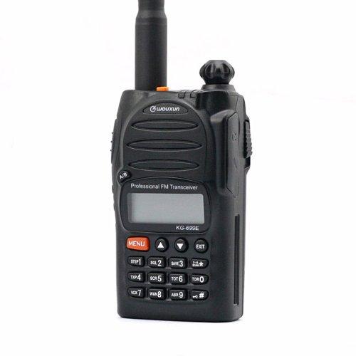 Wouxun 699E 4m 66–88Mhz 5W portátil operativos Funk BOS radioaficionados Micrófono con altavoz remoto Walkie-Talkie