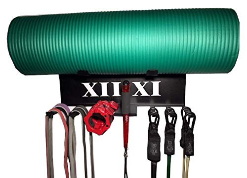 XII:XI Fitness Gym Storage Exercise Band Rack. American Made...