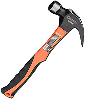 HARDEN 20 oz. Claw Hammer with Fiberglass Handle and Magnetic Nail Starter