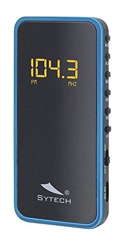 Sytech Radio Portátil Pequeña Digital...