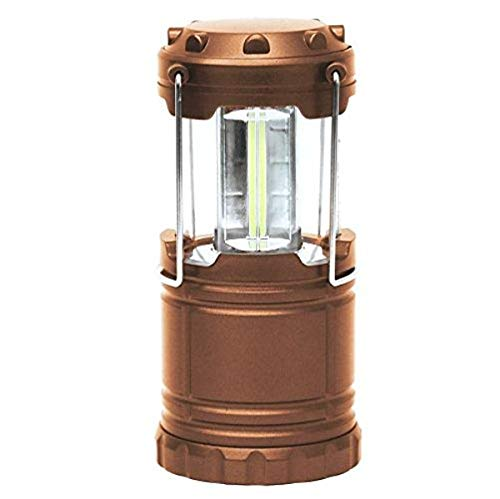 Bell + Howell TacLight Lantern Portable LED Collapsible Camping & Outdoor Torch, Copper