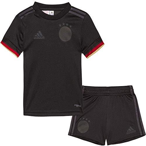 adidas DFB A Babykit Sportanzug für Babys und Kinder, Baby - Jungen, EH6107, Schwarz, 68