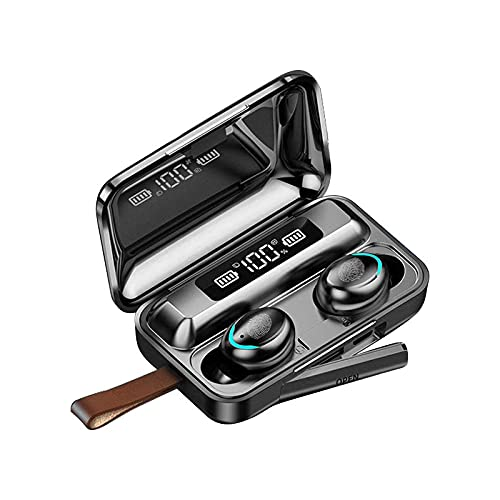 WSVVMQY Wireless Earbuds Bluetooth Headphones Premium Fidelity Sound Quality Wireless Charging Case Digital LED Display IPX6 Waterproof CVC 8.0 + DSP Dual Noise Cancelling