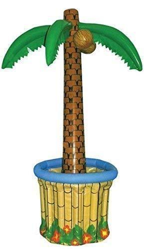 Fancy Me Aufblasbar Aufblasbar Groß Palme Getränke Kühler Hawaiisch Piraten Kostüm Party Requisit Zubehör