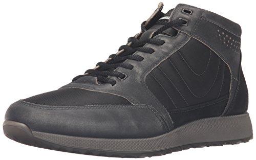 Ecco Sneak Men's, Zapatillas Altas Hombre, Negro (BLACK/BLACK51707), 42 EU
