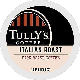Tully's Coffee Italian Roast, Keurig Single-Serve K-Cup Pods, Dark Roast Coffee, 72 Count