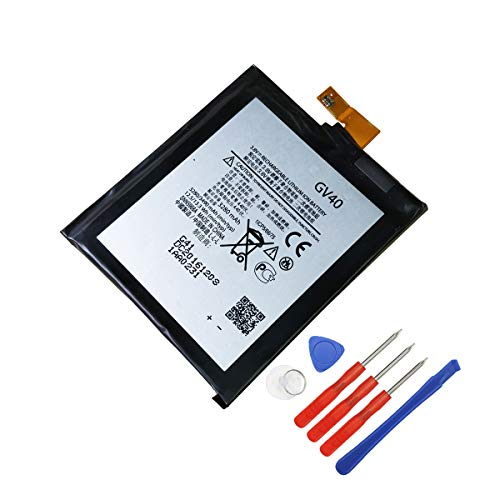 E-YIIVIIL Replacement Battery GV40 Compatible with Moto Z Droid Force XT1650-02 3280mAh 3.8V Internal Battery Moto Z Force with Tools