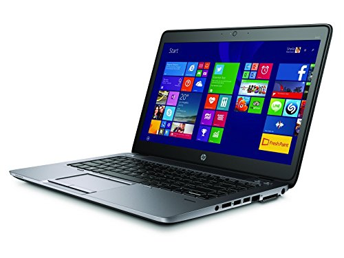 HP EliteBook 840 G2 Notebook PC - Intel Core i5-5200U 2.3GHz 8GB 256GB SSD Webcam Windows 10 Professional (Renewed)