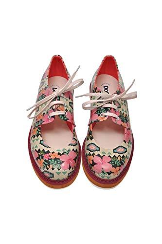 DOGO pency - Zapatos de piel vegana para mujer, (Multi color), 39 EU
