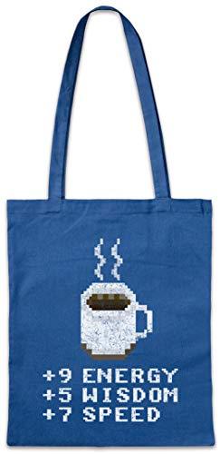 Urban Backwoods Pixel Coffee Hipster Bag Beutel Stofftasche Einkaufstasche