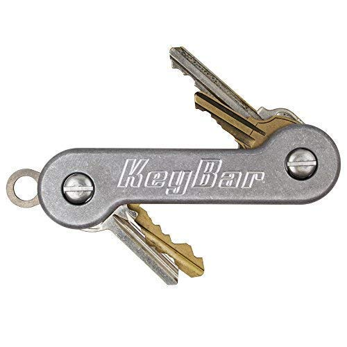 KeyBar | Everyday Carry Compact Key Holder Multi-Tool and Keychain Organizer with...