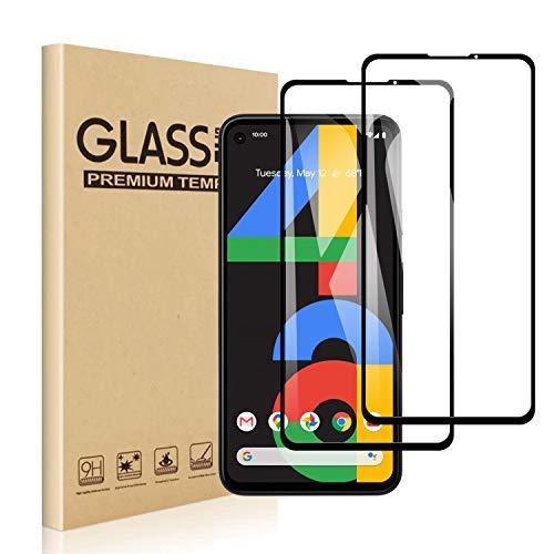 【2枚セット】 Google Pixel 4a ガラスフィルム 強化ガラス 強化ガラスフィルム Pixel 4a 液晶保護フィルム 日本旭硝子製 Google Pixel 4a フィルム 業界最高の硬度9H 99%高透過率 指紋防止 飛散防止 3Dタッチ