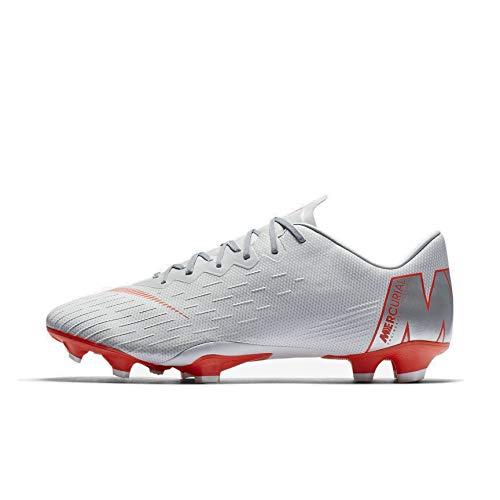 Nike Unisex Mercurial Superfly VI AG-PRO Sneakers, Mehrfarbig (Wolf Grey/Lt Crimson/Pure Platinum 001), 42.5 EU