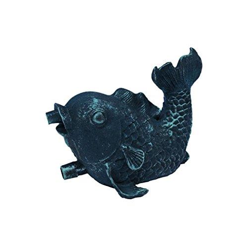 Ubbink Teichfigur Garten Figur Springbrunnen Dekoration Fisch 12,5 cm 1386009