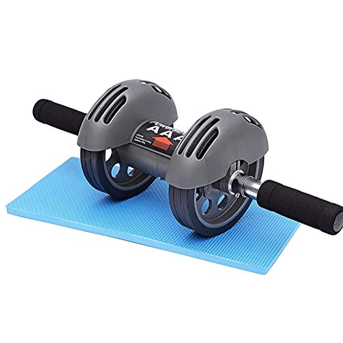 DYYTRm Ab Wheel Roller with Knee Mat,Abs Trainer Outdoor Indoor Workout Machine,for Best Abdominal Workout and Core Fitness Training