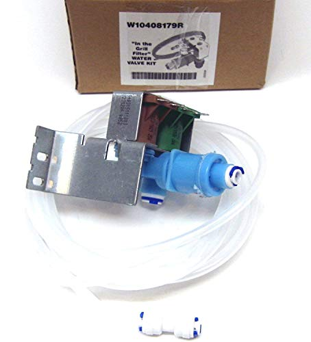 RO6G 2315534 Water Valve Filter Assembly Exact Replacement for Whirlpool Kenmore Refrigerator W10408179
