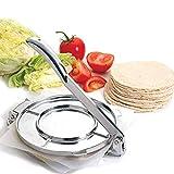 KIOPS Pressa per Tortillas | Versione migliorata Tortillada Alluminio Fuso | Adatto per Tacos,...