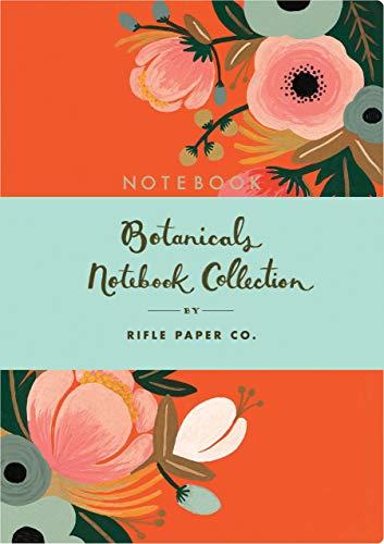 Coleção de cadernos Botanicais: (Conjuntos de cadernos florais, cadernos de diário, cadernos de folhas)