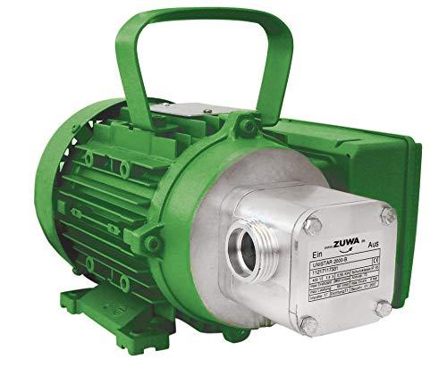 ZUWA UNISTAR 2000-B, 2800 min-1, 230 V; Impellerpumpe mit Motor, Kabel und Stecker - 110130M