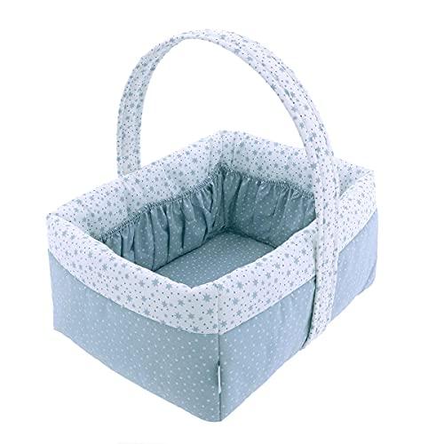 Cambrass 45947 - Cesta Infantil, azul, unisex