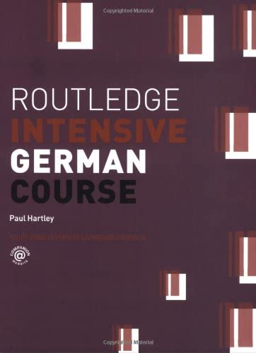 Routledge Intensive German Course Routledge Intensive Language Courses product image