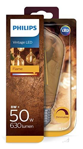 Philips LEDclassic Lampe ersetzt 50 W, E27, warmweiß (2200K), 630 Lumen, Tropfen, dimmbar