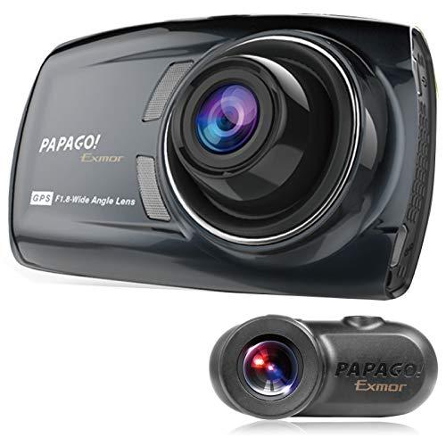 前後2カメラにSONY Exmorセンサー搭載 フルHD高画質オールインワン・ドライブレコーダー GoSafe S36GS1 GSS...