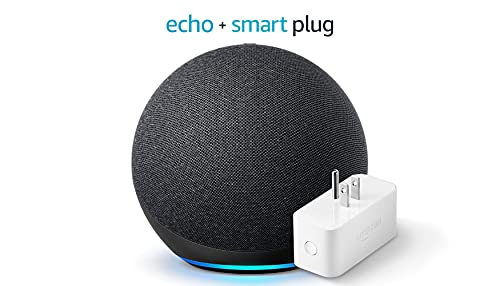 All-new Echo (4th Gen) - Charcoal - bundle with Amazon Smart Plug