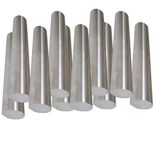 LOKIH 10Pcs Nickelstab Good Conductivity (Größe: 2.5Mmx100mm)
