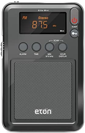 Eton Elite Mini Compact AM FM Shortwave Radio Graphics markings Color Packaging May Vary product image