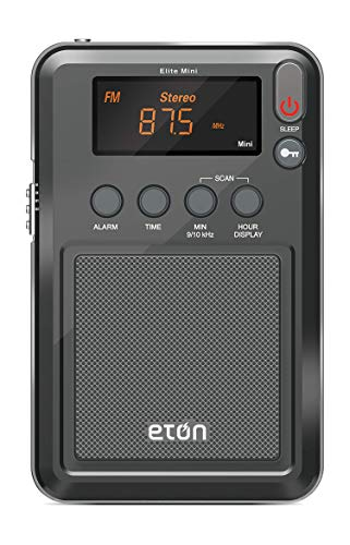 Eton Elite Mini Compact AM/FM/Shortwave Radio (Graphics/markings/Color/Packaging May Vary)