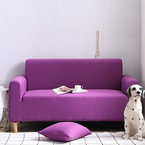 HXTSWGS Protector elástico para Muebles,Funda elástica para sofá, Taburete para Silla, Funda para Muebles, Funda para Silla de sofá-Purple_90-140cm