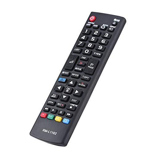 Tangxi Telecomando di Ricambio per TV, Telecomando Sostitutivo Ideale per TV Universale,Controller TV per TV LCD LG,8m di Trasmissione,Prestazione Stabile,Alta qualità,Nero