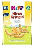 Hipp Knabberprodukte Kinder Hirse-Kringel, 5er Pack (5 x 30 g) -
