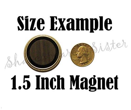 Sarcastic Magnet - Fridge Magnet - Sarcastic Women - 1.5 Inch Magnet - Kitchen Magnet - Sassy Quote - Retro Kitchen - Gift for Friend - Retro Girls