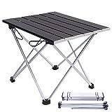 Folding chair Tables de Camping Qui Se Replient Légères, Table Pliante en Aluminium Compacte Extérieure Portative, Petites Tables Pliantes pour Petits Espaces 2 Pi X 3 Pi