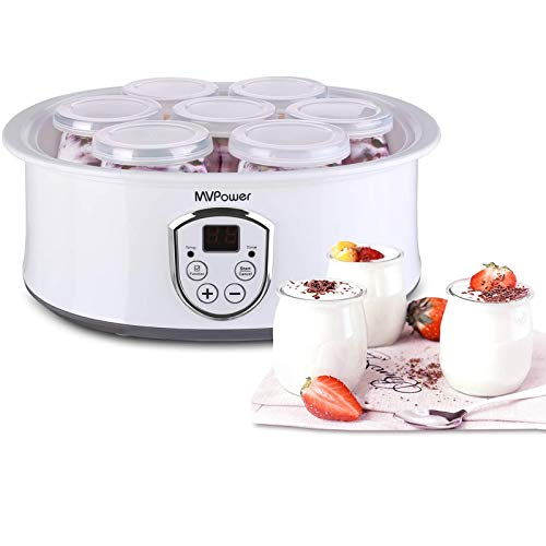MVPower Yogurtera con Termostato Ajustable y...